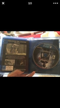 Uncharted PS3 game disc