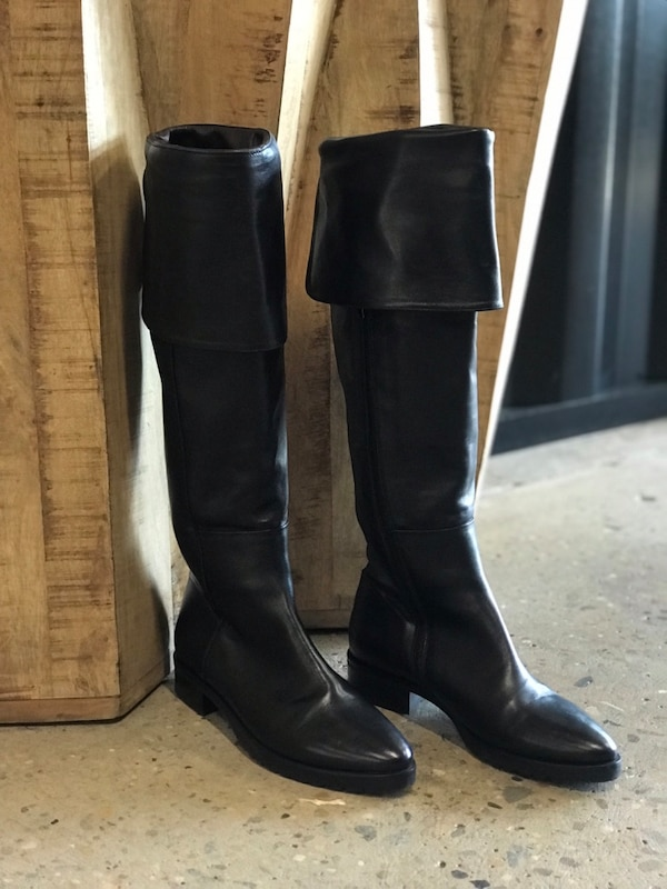 Made in Europe boots - only wear once size 39/8