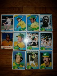 Topps 1980 Rookie Cards Chesapeake, 23322