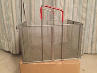 Pronto Basket for Deep Frying, mining for gold, or parts cleaning Stafford, 22554