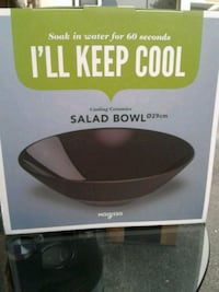 Magisso cooling ceramic salad bowl new in box  Burtonsville, 20866