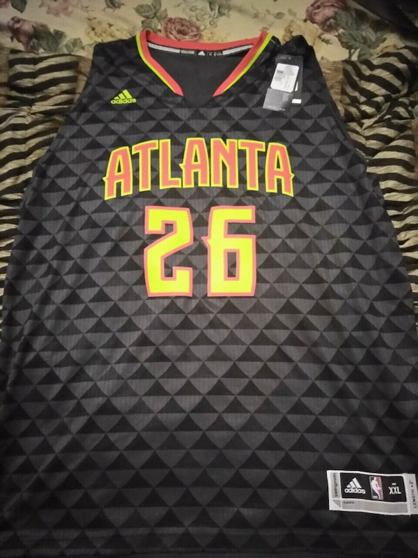 Used black and gray Atlanta 26 Kyle Korver jersey for sale in Covington -  letgo 54e14eb1f