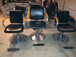 Salon chairs (ONLY 2 LEFT)