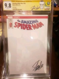 stan lee signed spider man blank 9.8 Tempe, 85282