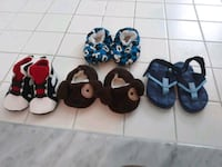 4 pairs infant/toddler boys shoes District Heights, 20747