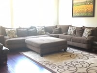 Black and gray sectional couch San Diego, 92130