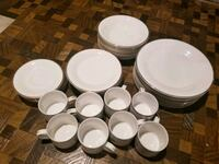 8 Piece Setting Gibson White China Milwaukee, 53225