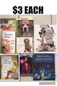 Books $3 each  Brampton, L6V