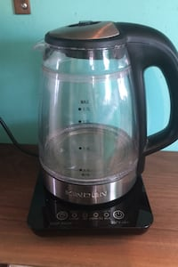 Kinden glass electric kettle
