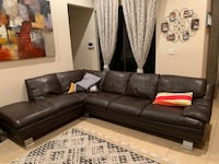 Leather Sectional Cooper City, 33024
