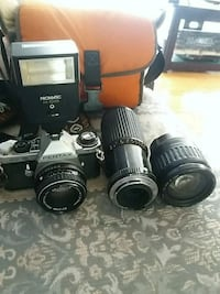 black Canon DSLR camera set Alexandria, 22309