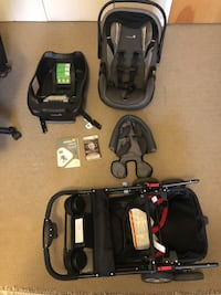 Safety 1st care seat + and snap and go frame Edmonton, T5L 2R3