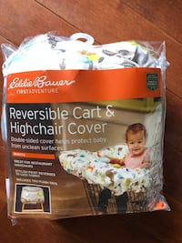 reversible grocery cart and high chair cover Ashburn, 20148