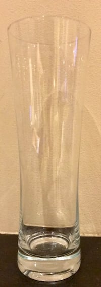 Fin glass vase/ Ølglass/ Brusglass/ Festglass