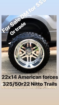 chrome 5-spoke vehicle wheel and tire set 516 mi