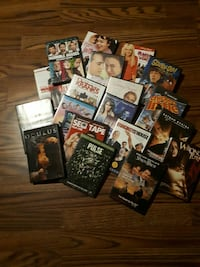 assorted DVD case collection Ontario, P3C 4G6