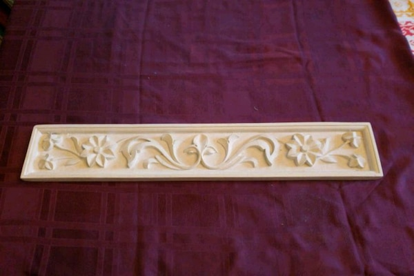 """Wall plaque  23 3/4"""" x 4"""""""