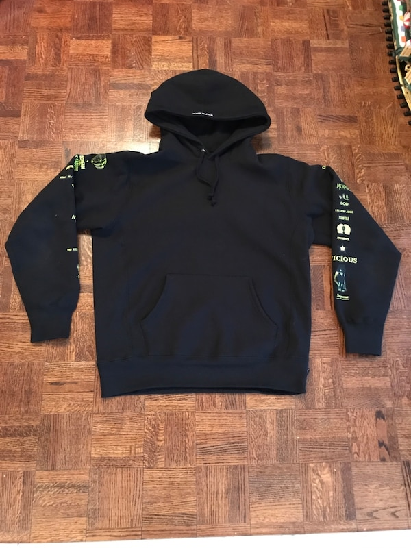 BLACK SUPREME x MENACE HOODIE