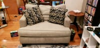 gray fabric 2-seat sofa Herndon, 20171