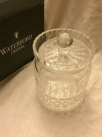 Waterford crystal biscuit jar Boyds, 20841