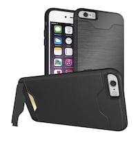 IPHONE 6s case with Card slot and Stand Brand New Sealed  Brampton, L6X 4R7