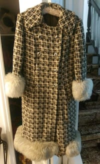 Full length coat with fur trim Laurel, 20708