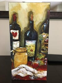 Wine bottle painting. Orange City, 32763
