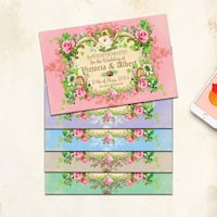 Save the date flat cards for wedding or quinceañera Vaughan, L4L 1A6