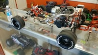 gray and black rc toy car chassis Fresno, 93727