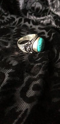 Sterling Silver Turquoise Ring  El Mirage