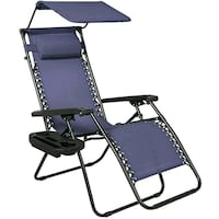 black and blue folding chair Utica, 43080