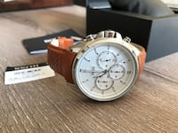 Hugo Boss chronograph watch with brown leather strap Brampton, L6S