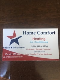 Home Comfort card Fort Washington, 20744