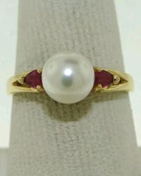 14kt gold ruby ring Laytonsville, 20882
