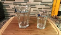 Hoegaarden glasses- pint and half pint size Washington, 20037