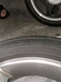 """17"""" tire and wheel for Audi A4 New Westminster, V6M 3B3"""