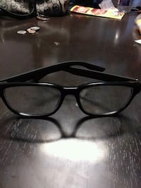 black framed eyeglasses with case Gaithersburg, 20878