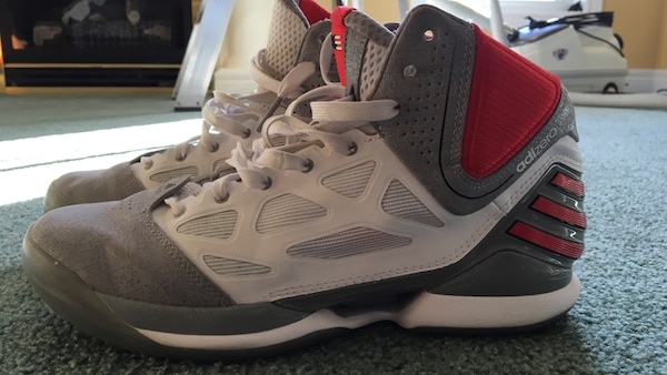 552ff46d8676 Used Adidas adizero rose 2.5 basketball shoes for sale in Thames Centre -  letgo