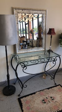wall entryway/sofa table  beveled glass  Montgomery, 36107