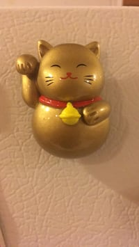 Lucky waving Japanese cat magnet  Pittsburg, 94565
