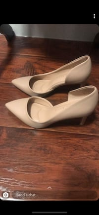 Nude heels with cute cut on sides Calgary, T2A 5G7
