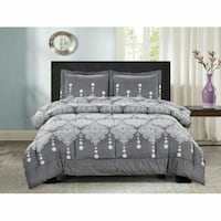 1 Left! Reserve for Delivery Now, 3pc Qn Comforter Toronto, M1L 2T6