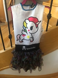 NEW  Adorable Tokidoki Unicorn Costume size 10/12 Edmonton, T6H 3A8