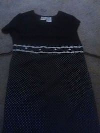 black and white sleeveless dress Kingman, 86401