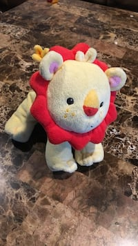 Fisher price lion rattle