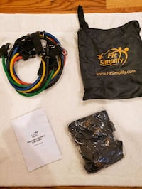 Fit simply resistance bands  Chicago, 60645