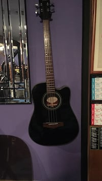 Fender Acoustic bass guitar