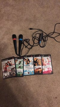 singstar games and two mics for PS2 Hopewell, 23860
