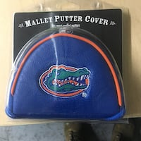 blue and orange Gators mallet putter cover Mississauga, L4W 1H7