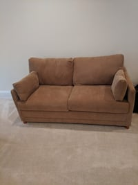 brown suede 2-seat sofa Gainesville, 20155